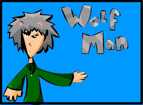 Wolf Man Design