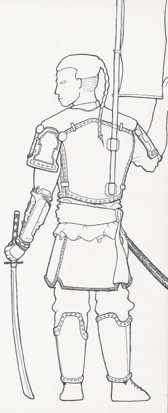 Robo-Arm Warrior