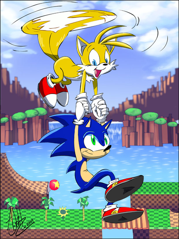 Sonic is 18