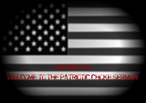 Amerikkka the choke sermon