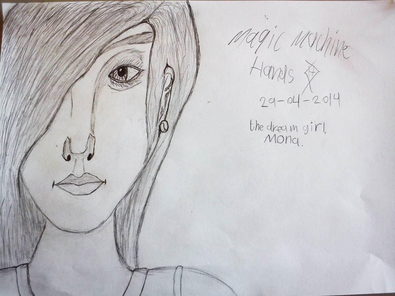 Mona, the dream girl