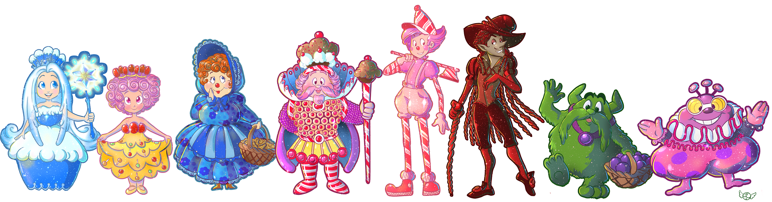 Candyland Characters!