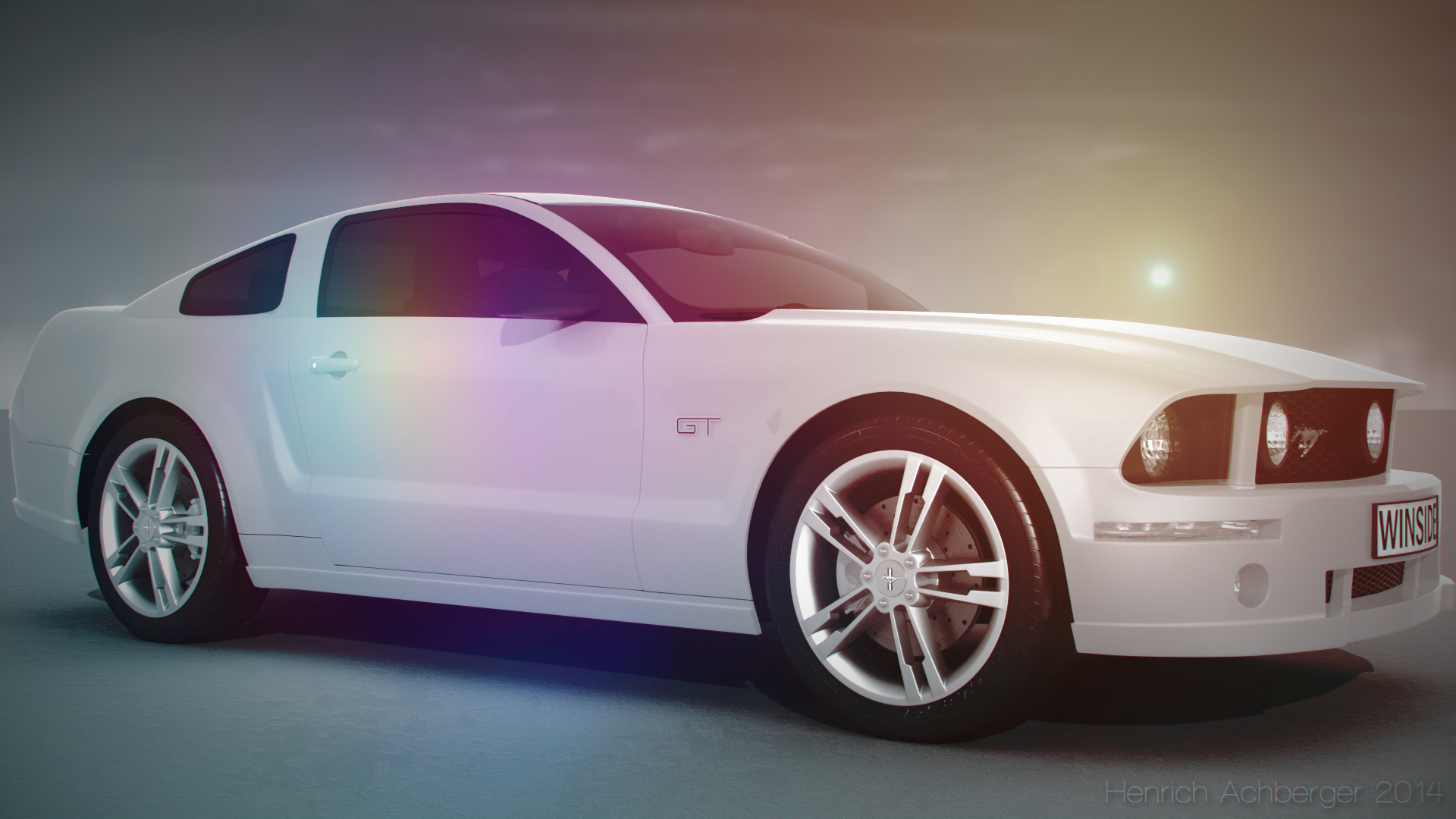 Ford mustang 3d model