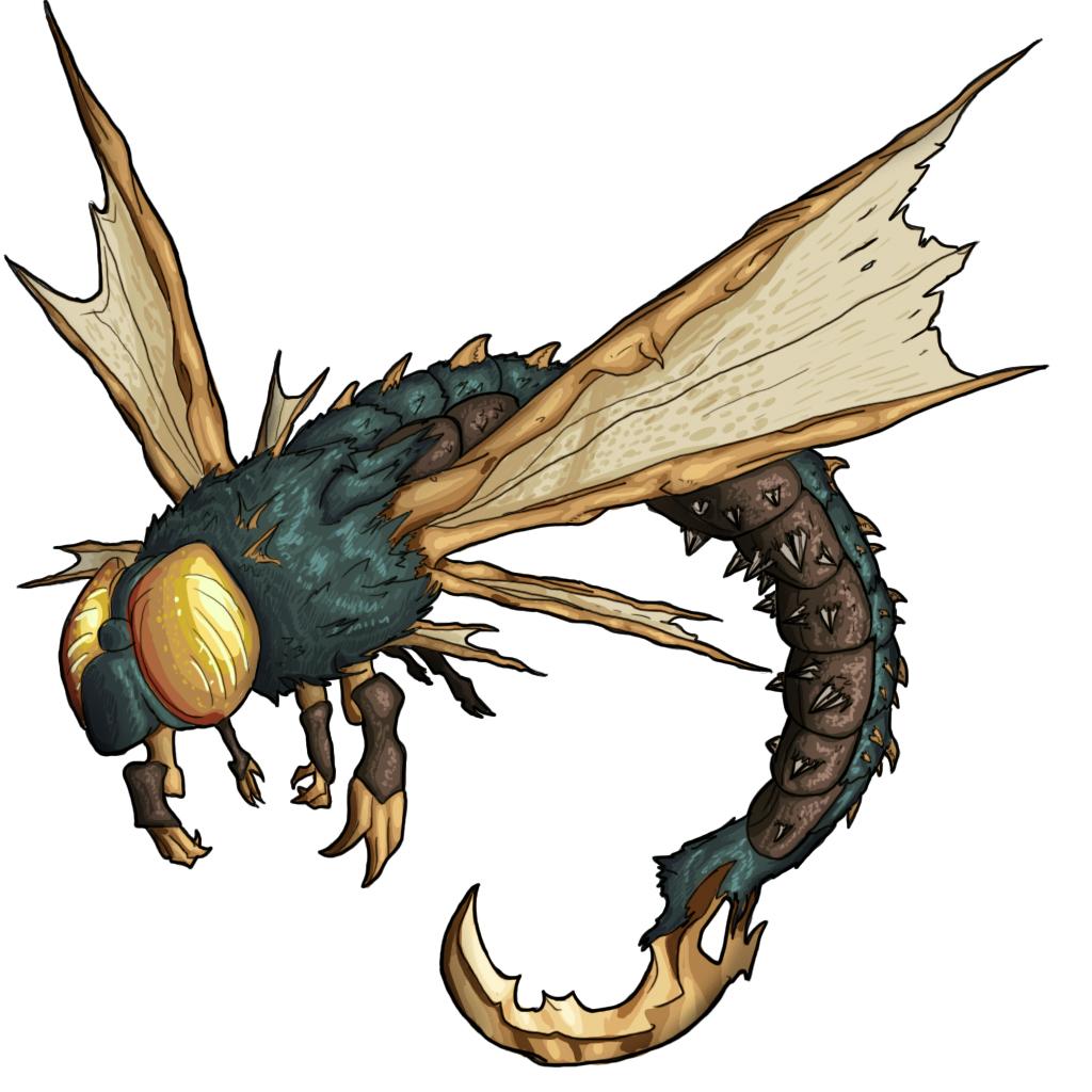Dragonfly monster
