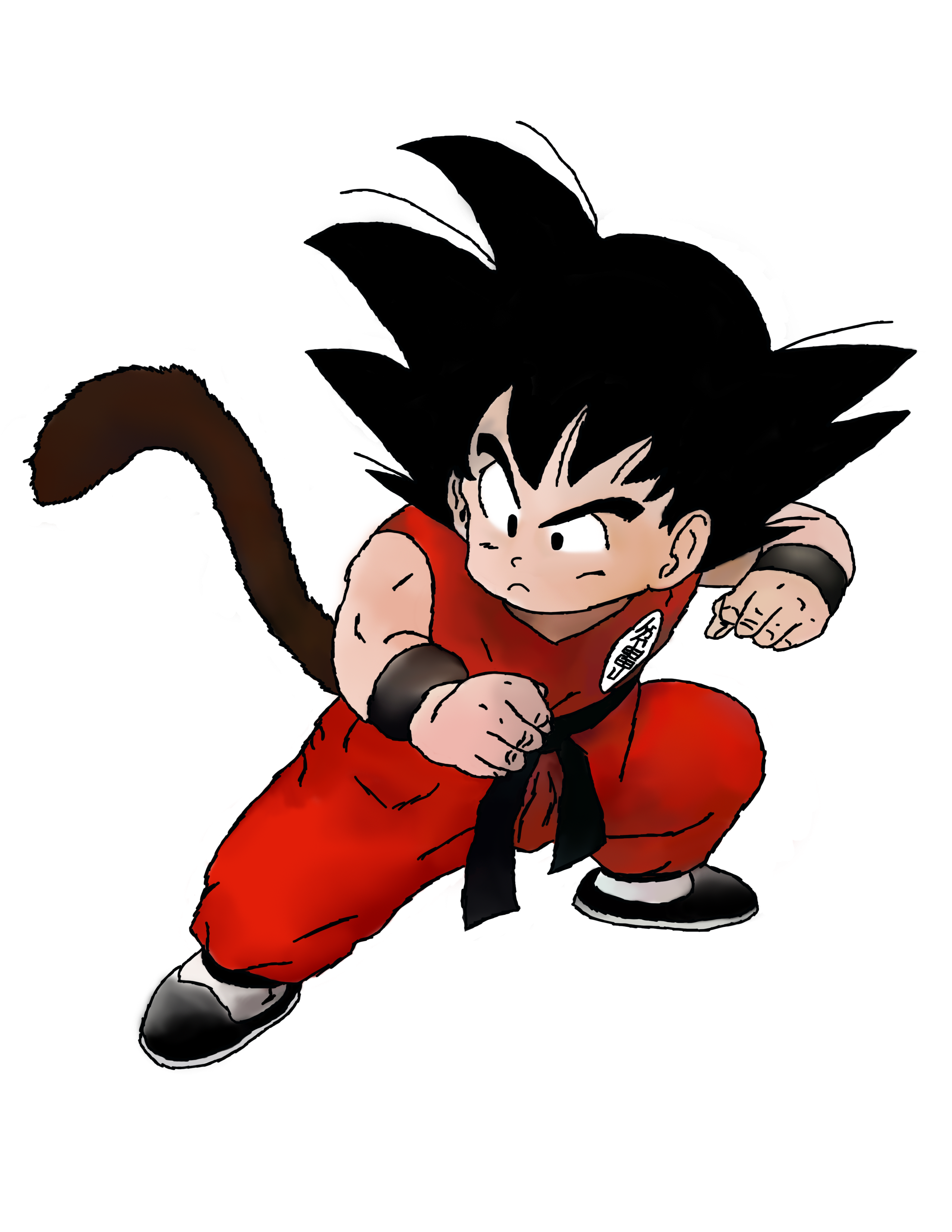 Kid Goku Drawing