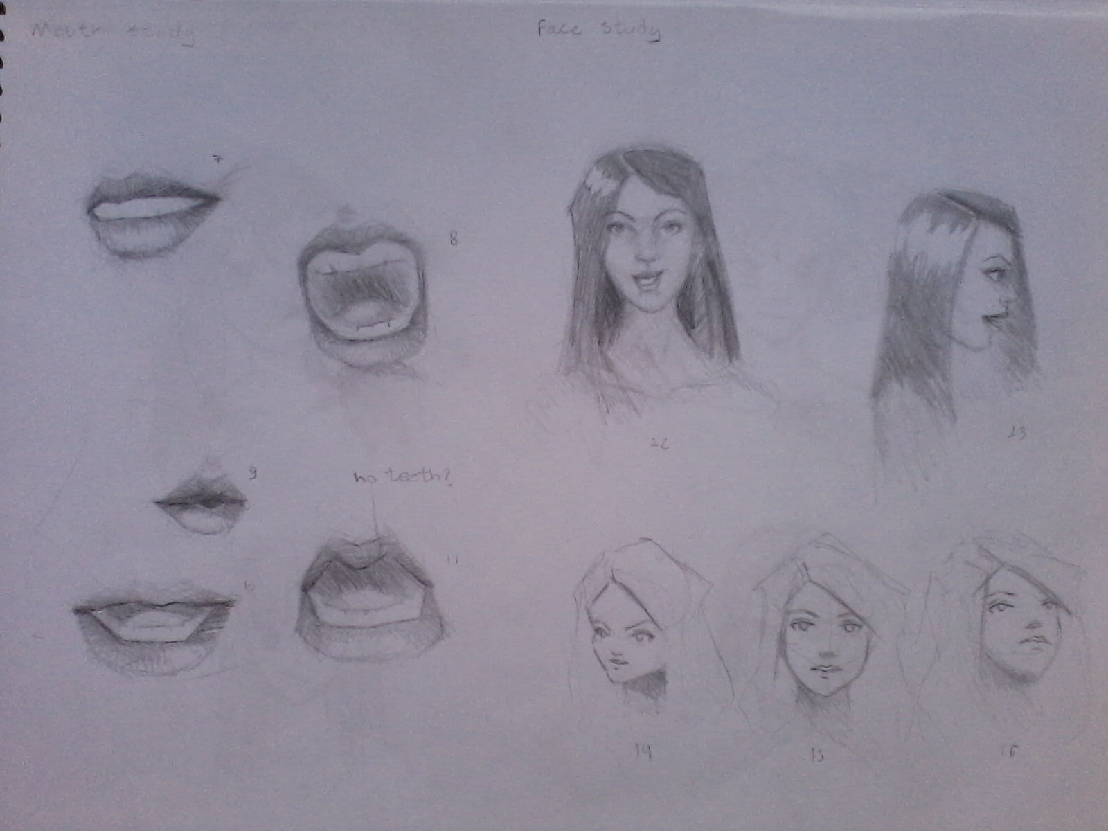 Mouth/Face study