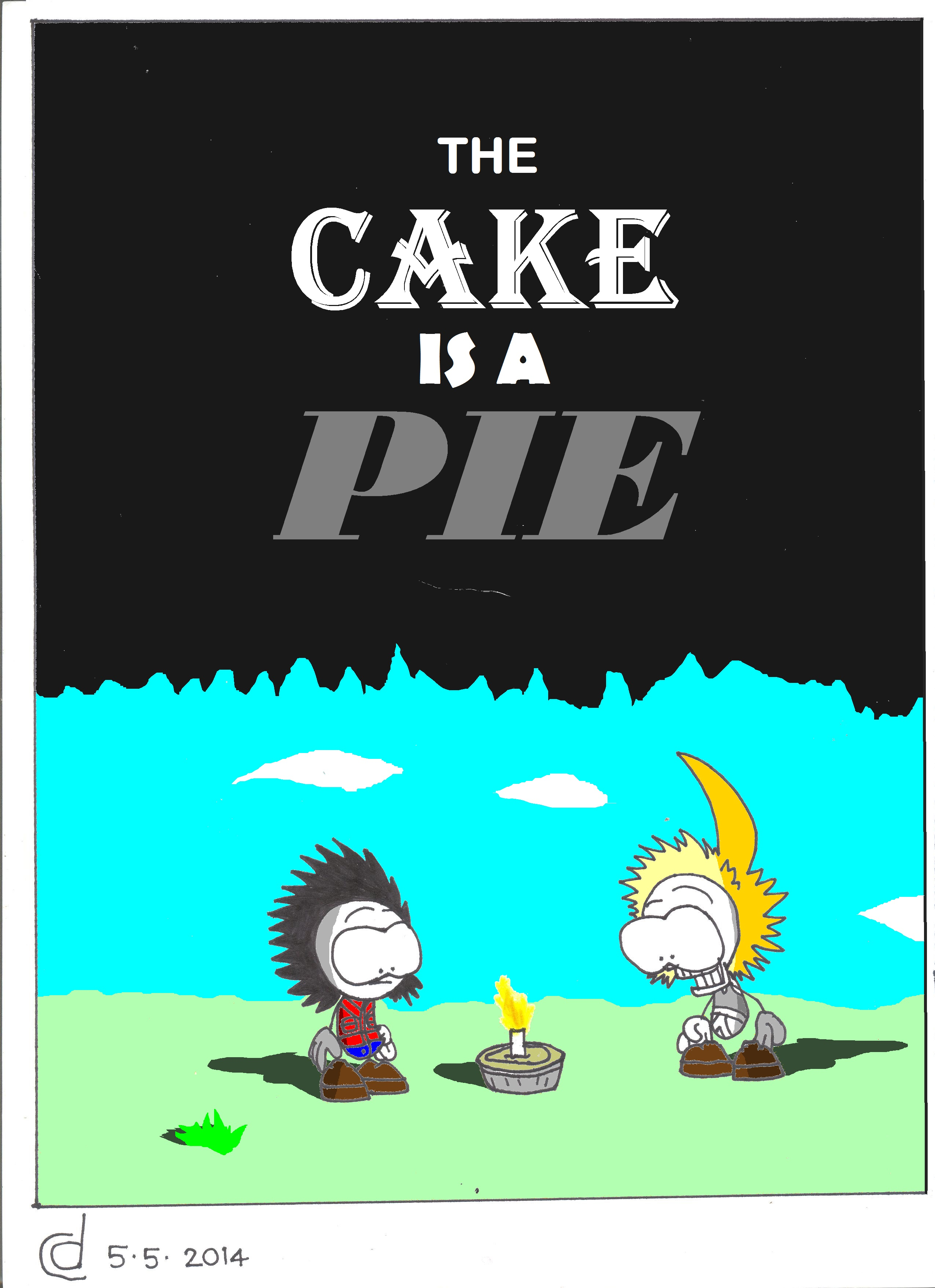 The Cake Is A Pie