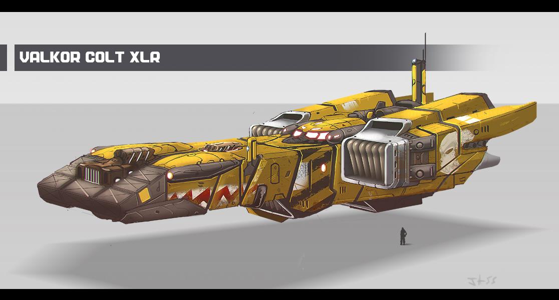 Spaceship - Valkor