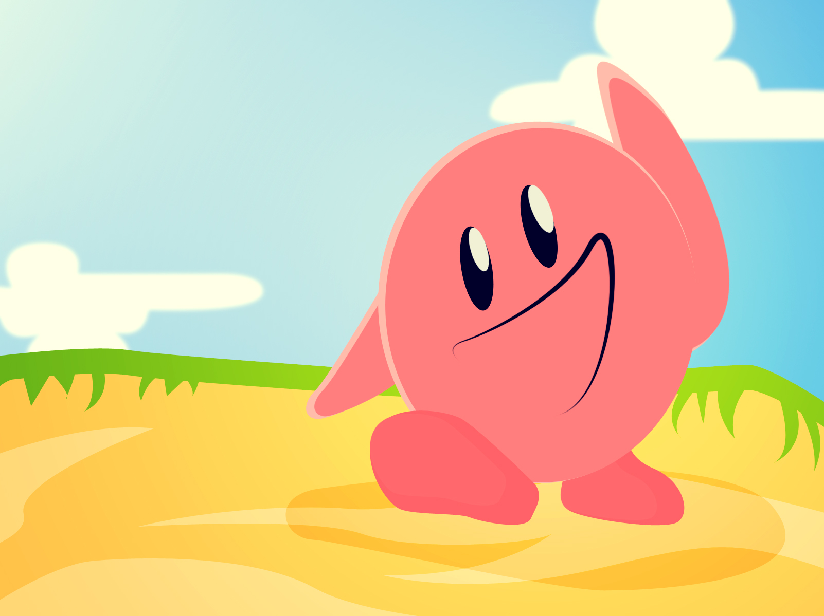 Kirby! Summer's not yet over!
