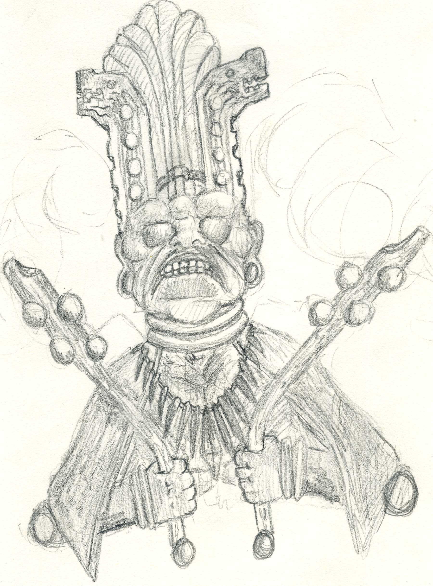 Mayan sketch