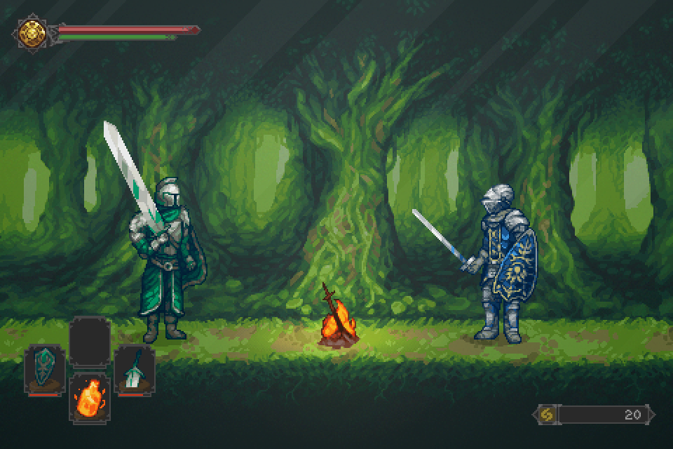 Dark Souls 2 - Forest of Fallen Giants