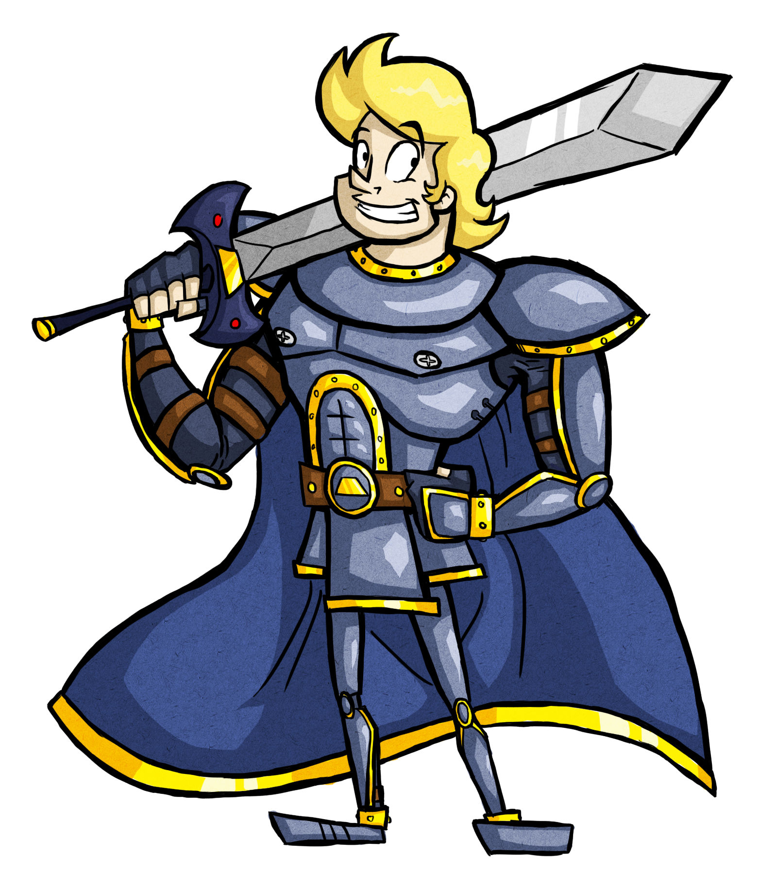 """Sir Dufius"" Character Pinup"