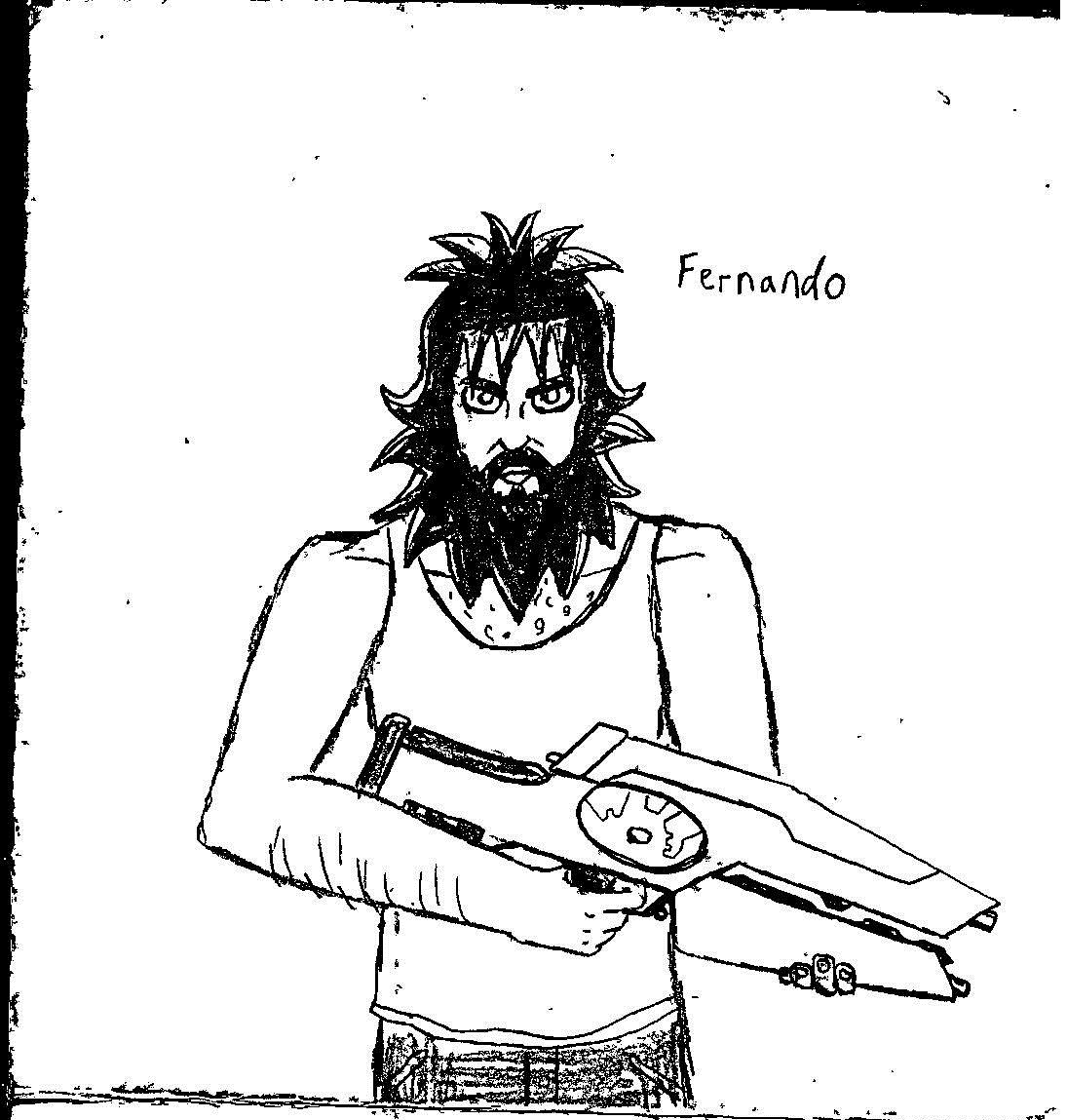 Fernando fanart sketch