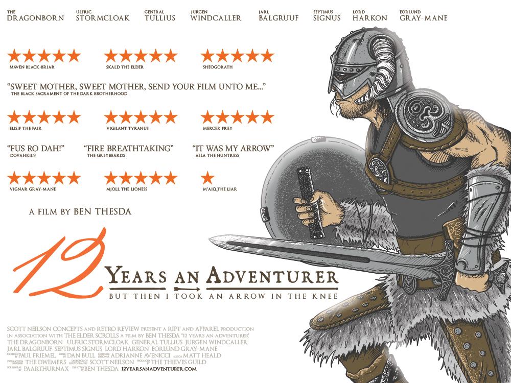12 years an adventurer