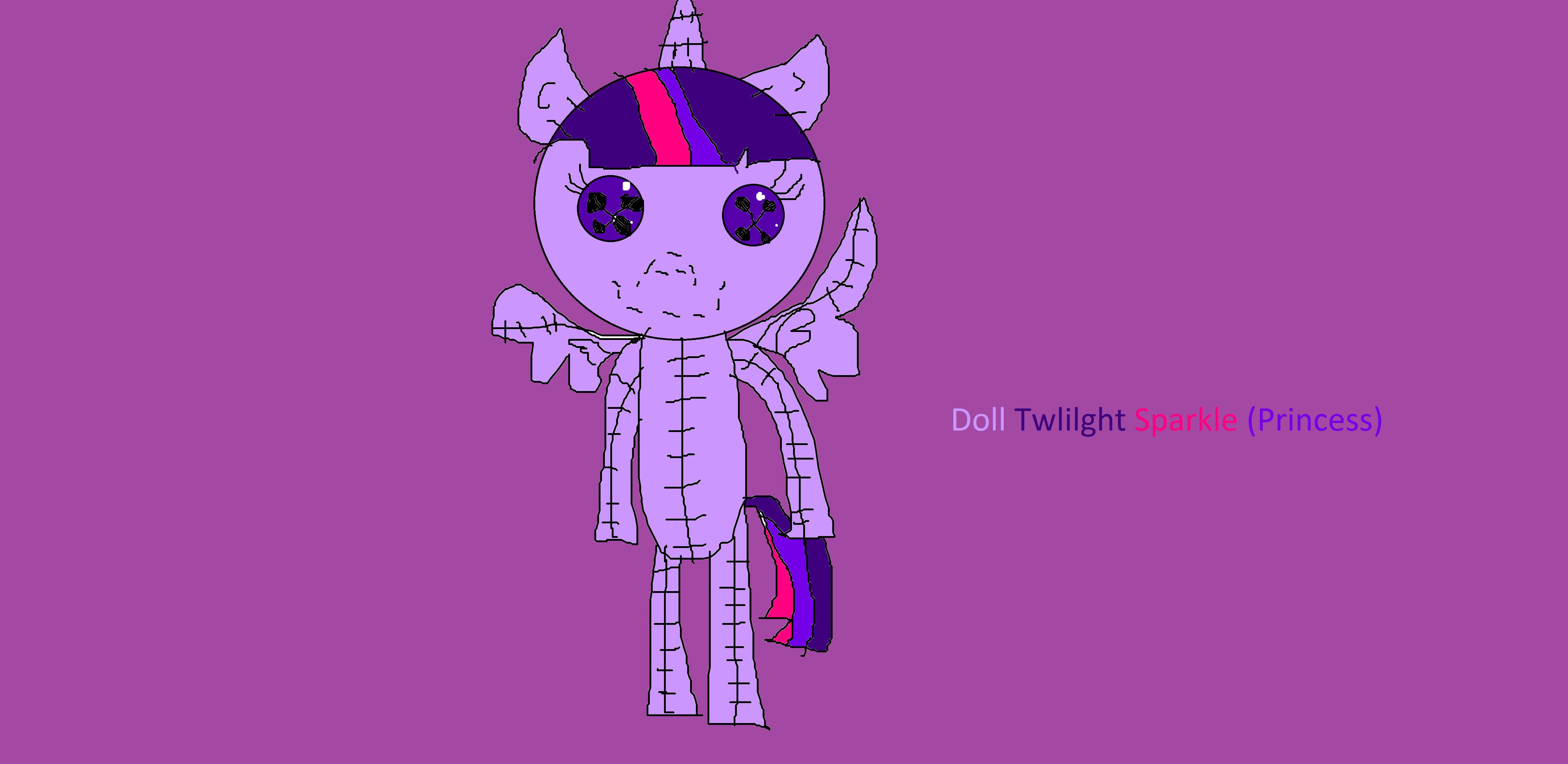 Princess Twlilght Sparkle Doll