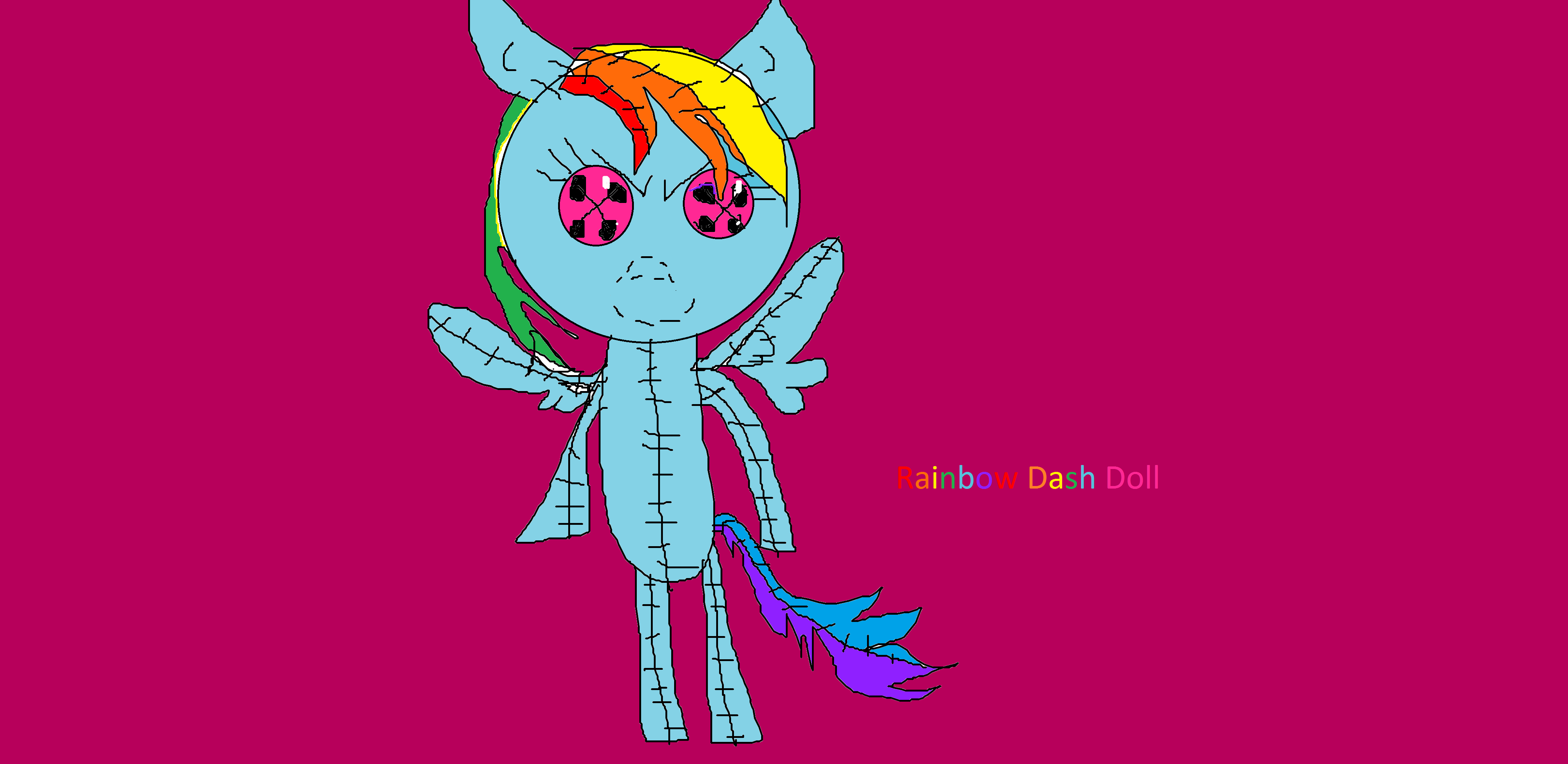 Rainbowdash Doll