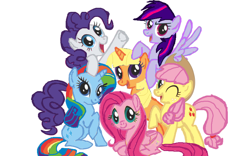 Mane six color swap