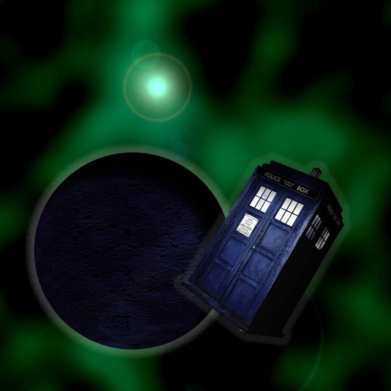 In Flight TARDIS (first work)