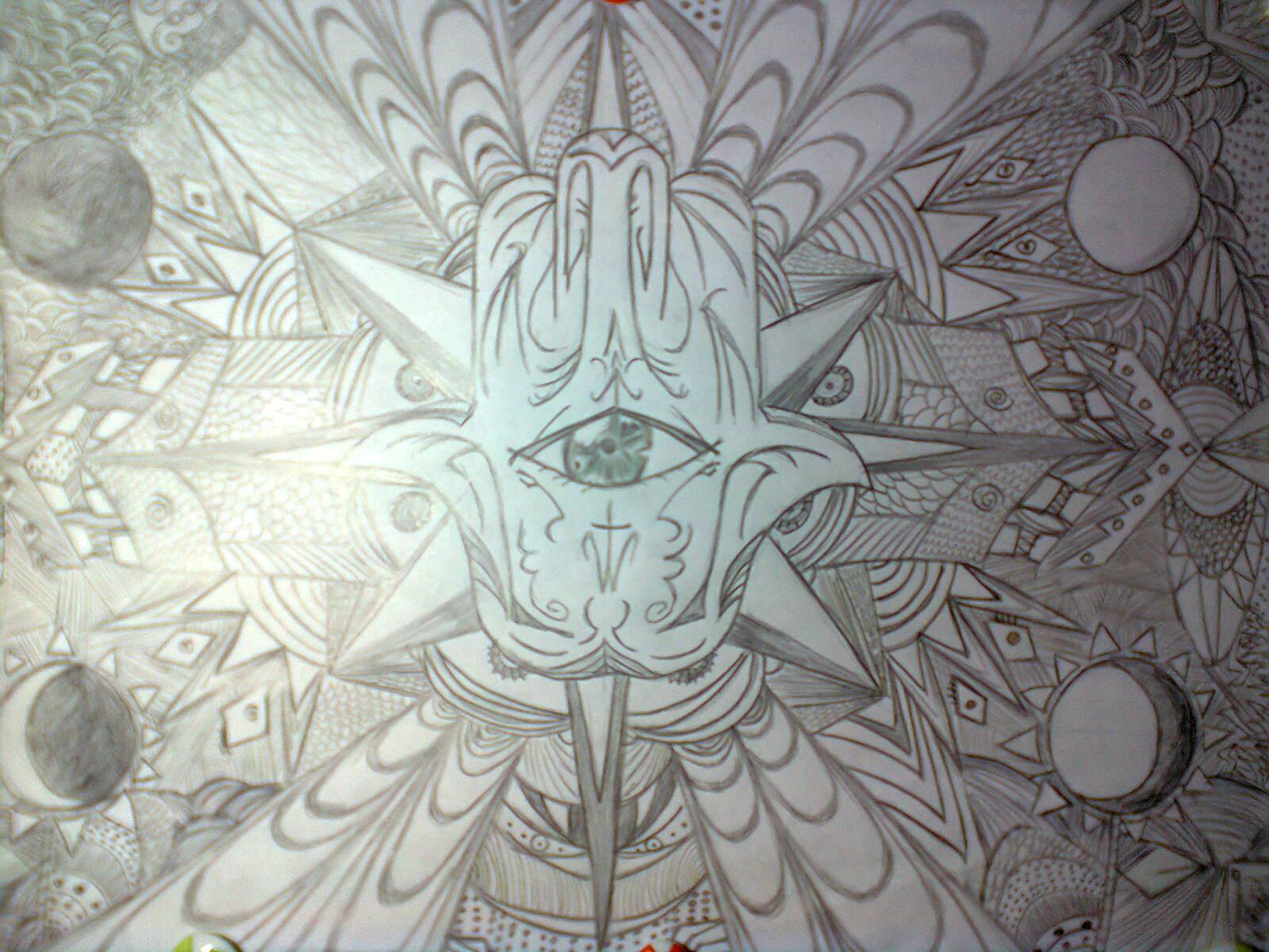 Hamsá Eye