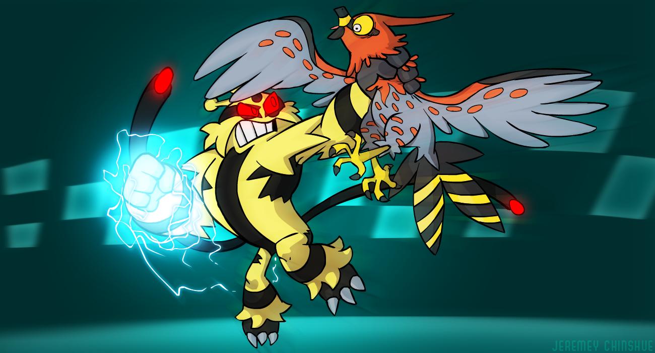 XY BattleSpot - Electivire!