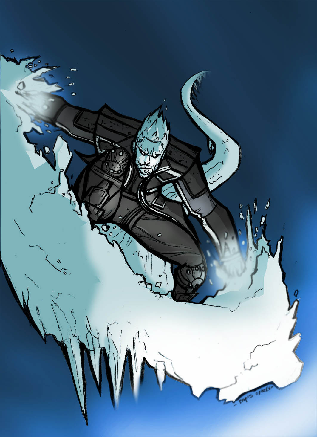ICEMAN:DAYS OF FUTURE PAST