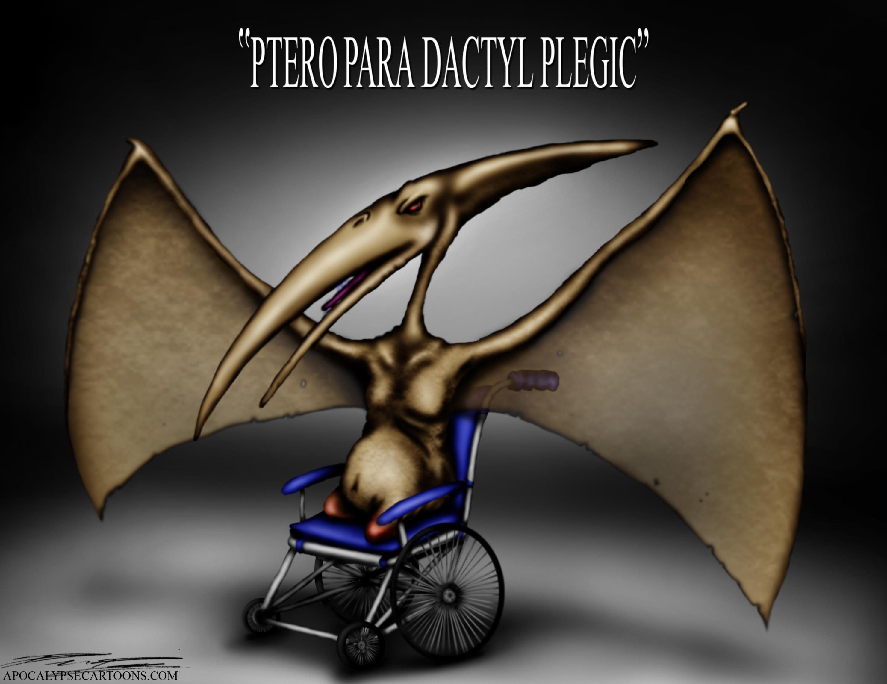 Pteroparadactylplegic