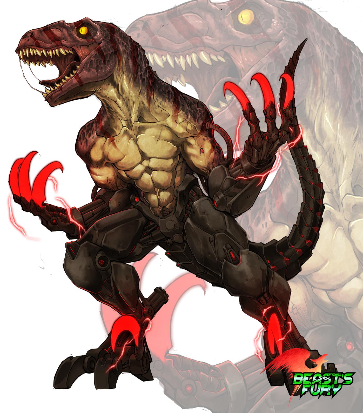Beast's Fury Ego Raptor
