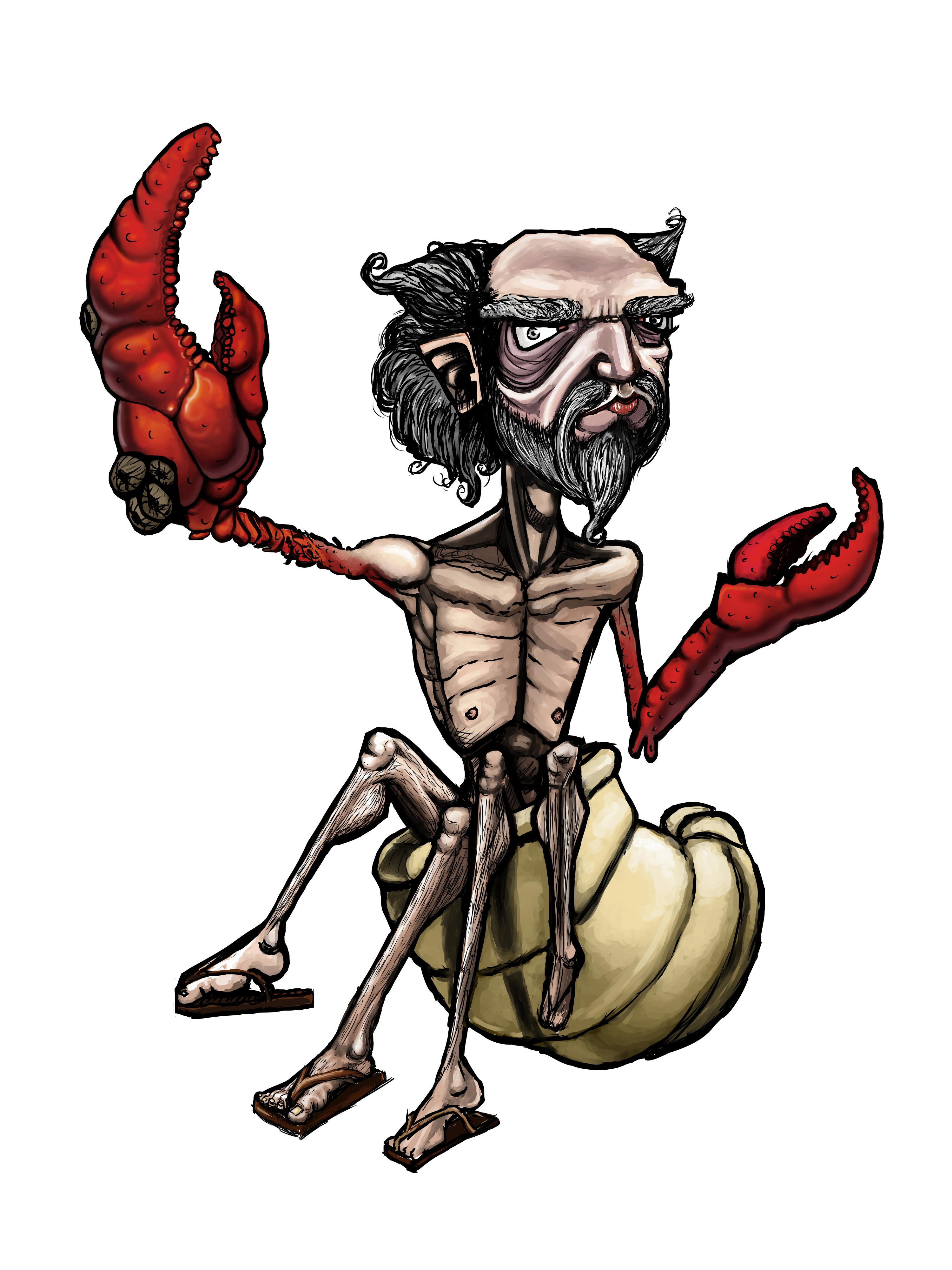 Hermit...PFFT...Crab!