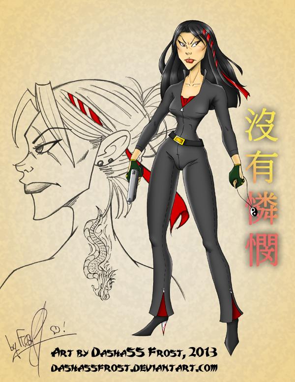 Chinese Hitman Girl