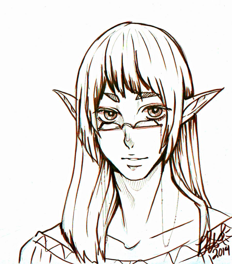 Typical Bishi elf guy.
