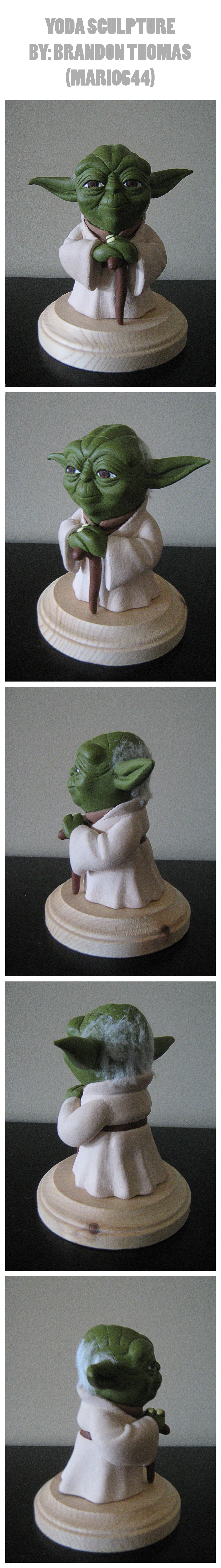 Yoda Sculpture