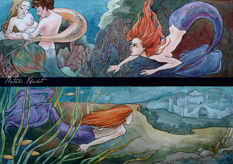 Sneaky Mermaid