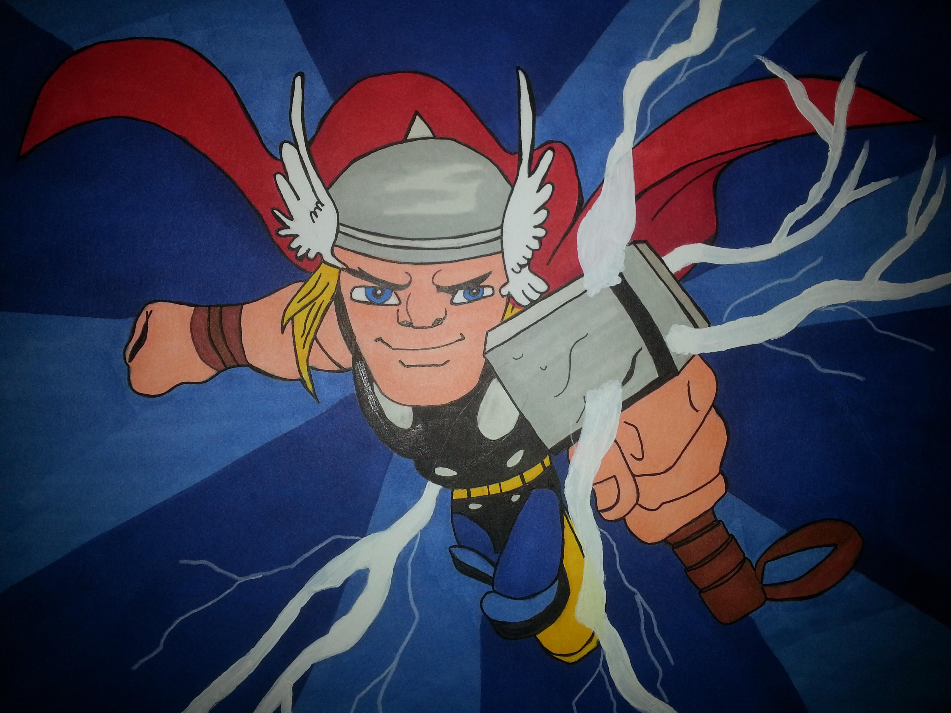 Thor Super Hero Squad