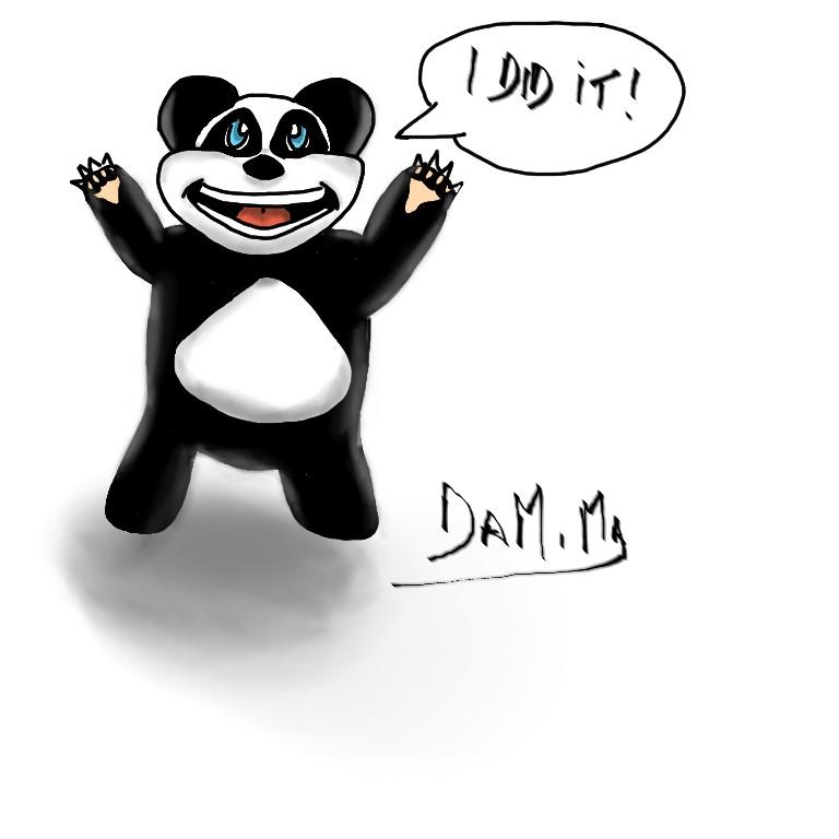 Winner panda
