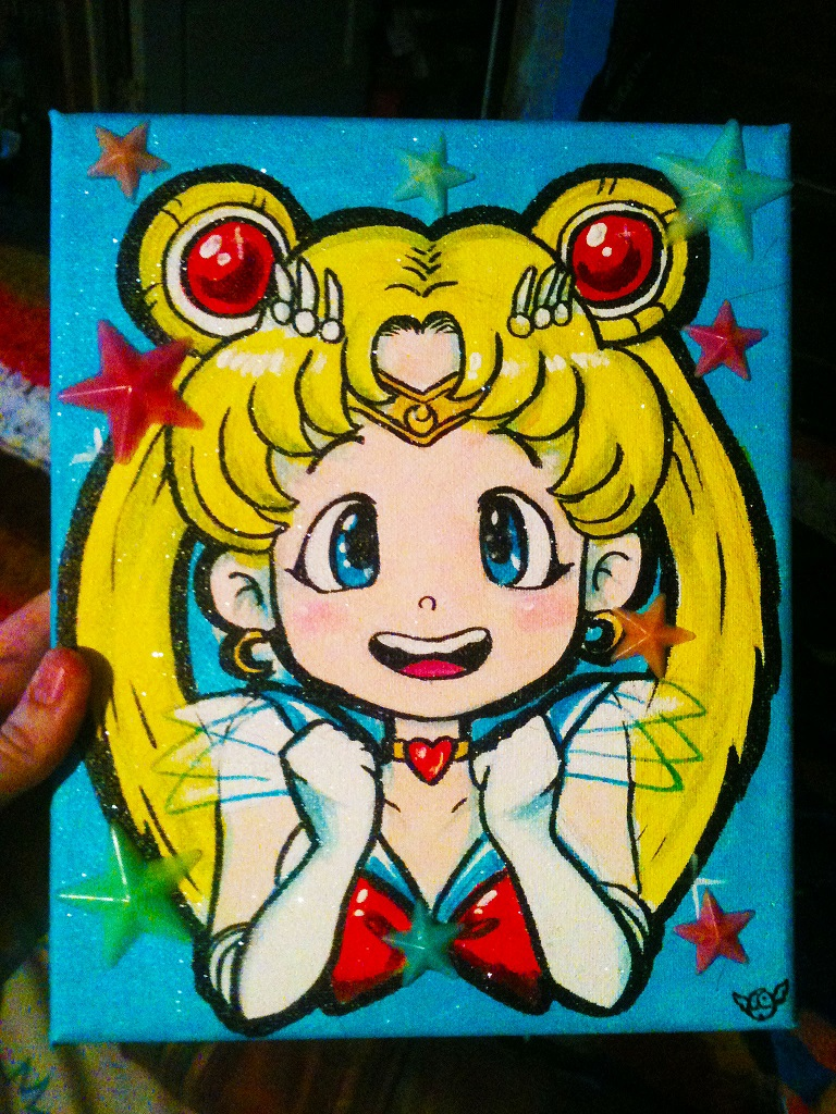 Sailor Moon Painting
