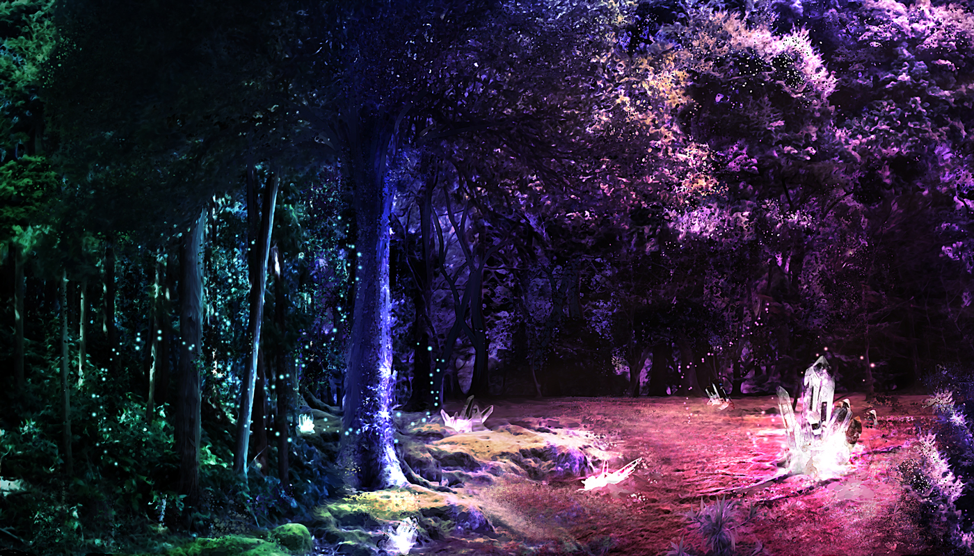 MAGICAL CRYSTAL FOREST