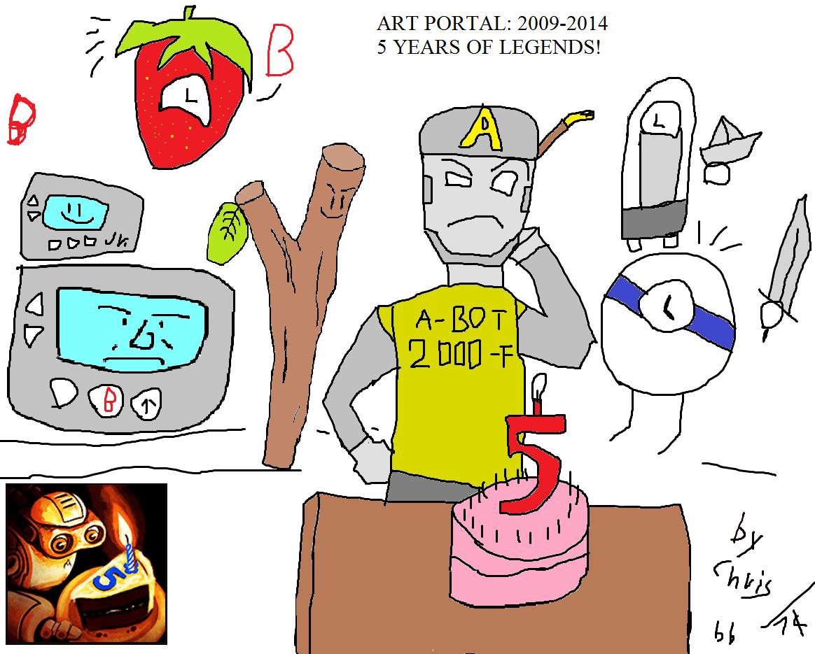 the art bots b-day -5 years-