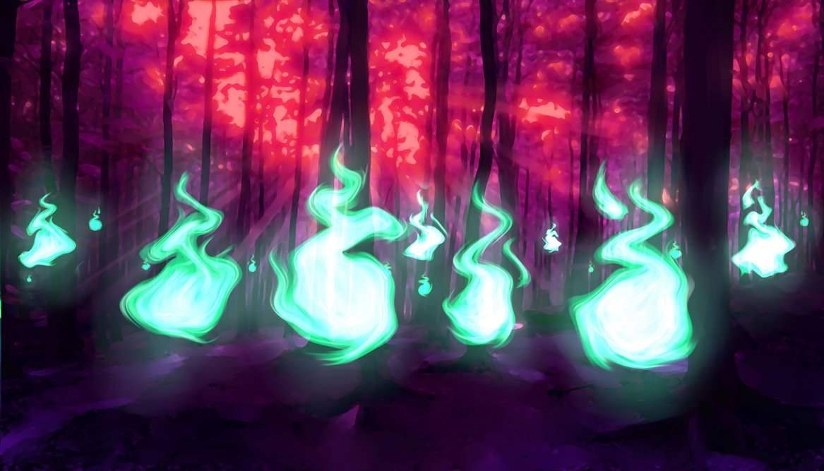 SPECTER FLAME FOREST