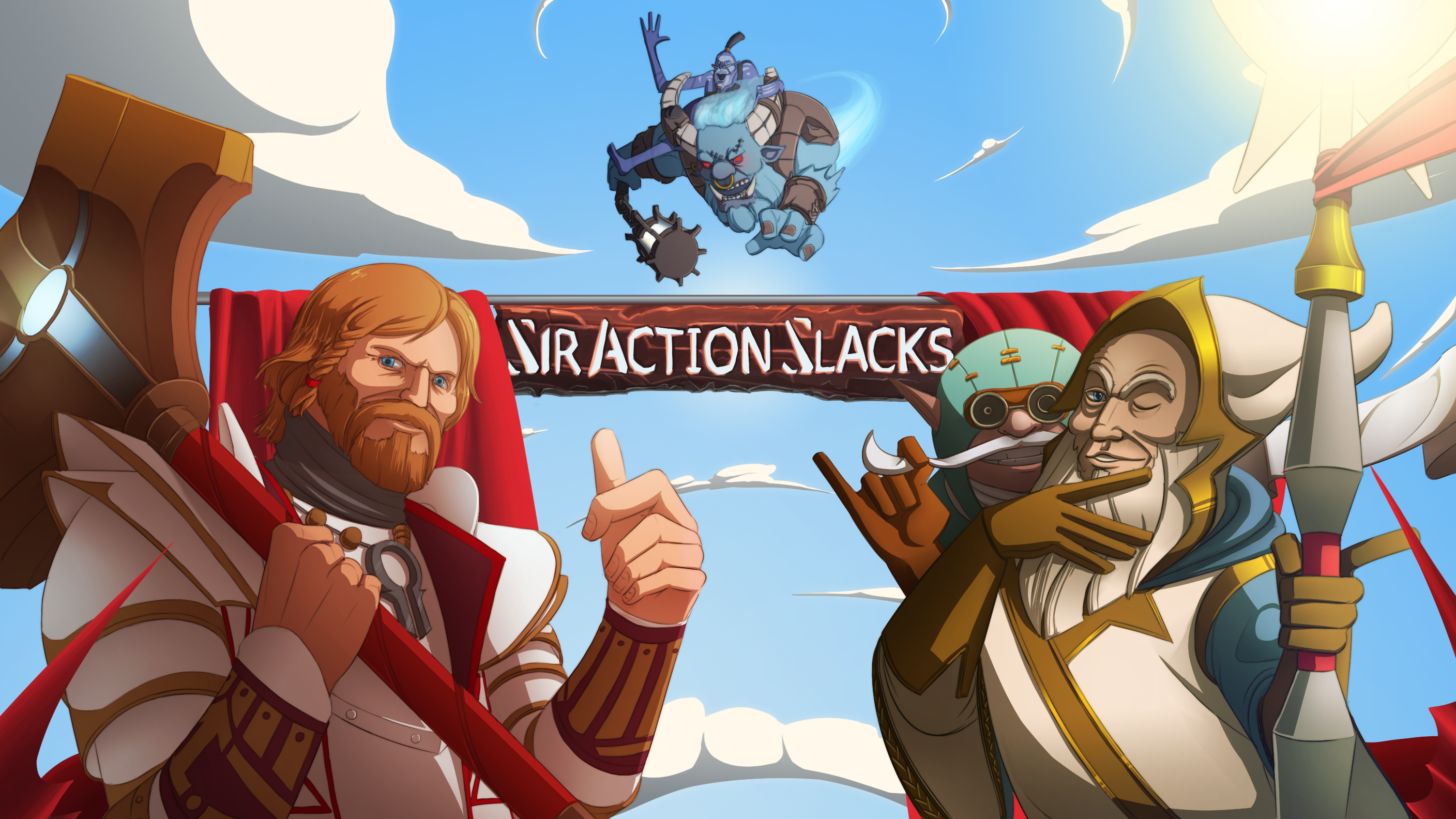 DOTA2: SirActionSlacks Banner