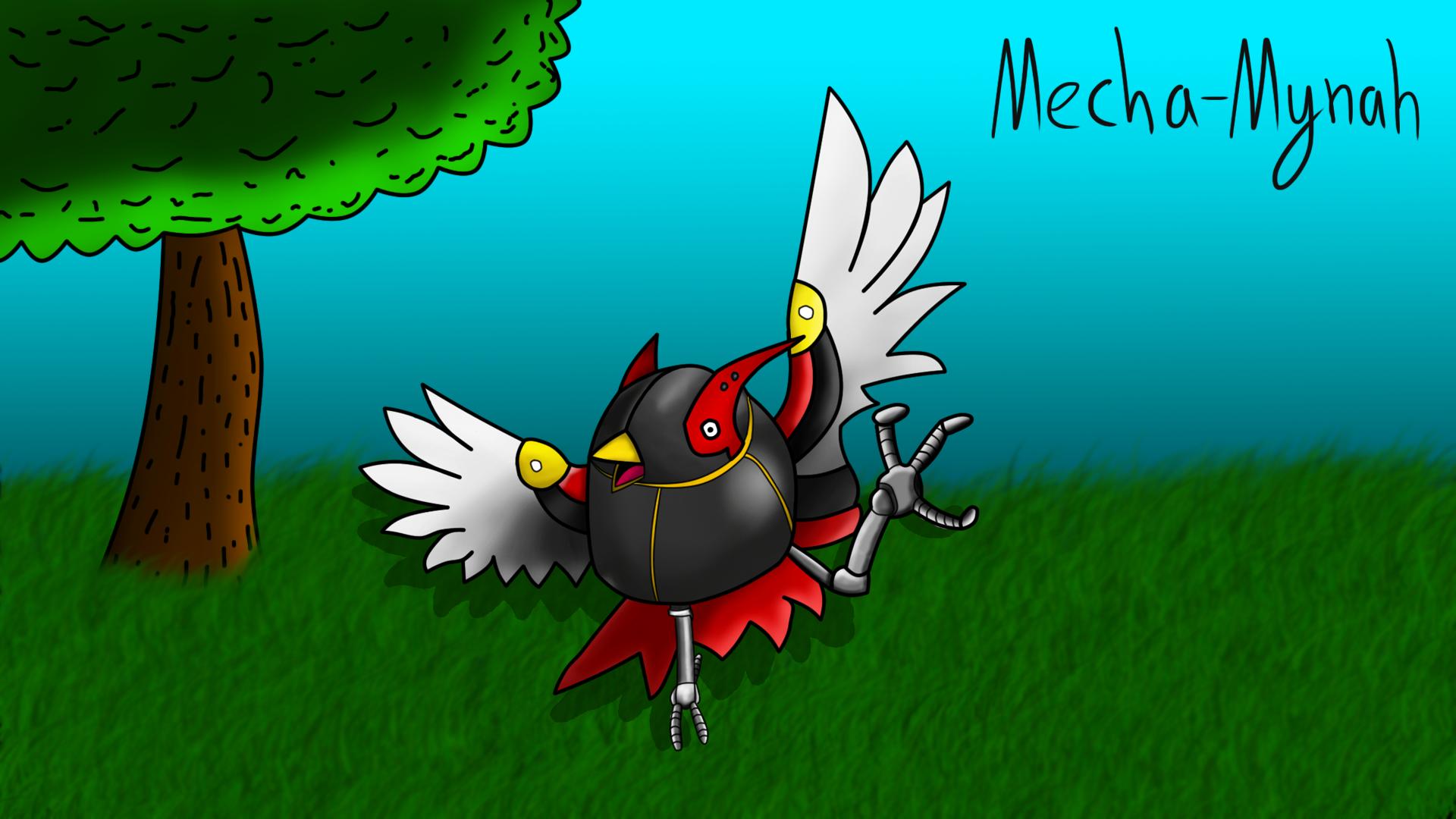 Mecha-Mynah!