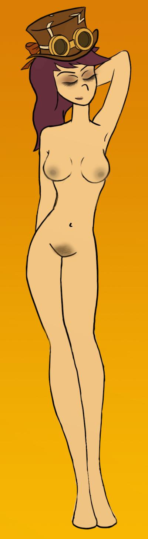 Steampunk Vivian Nude