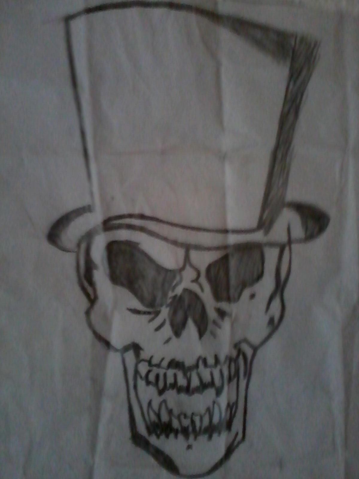 Guns N Roses Skull