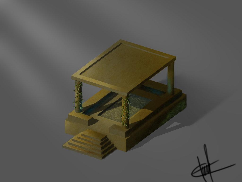 Golden Kiosk