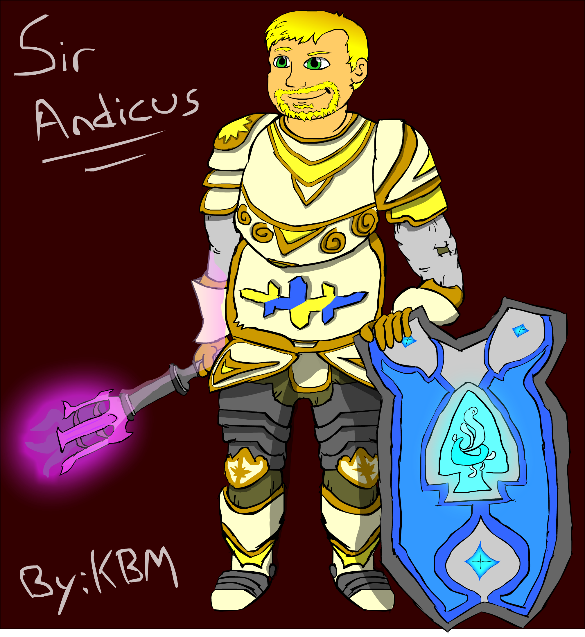 Sir Andicus - Cleric