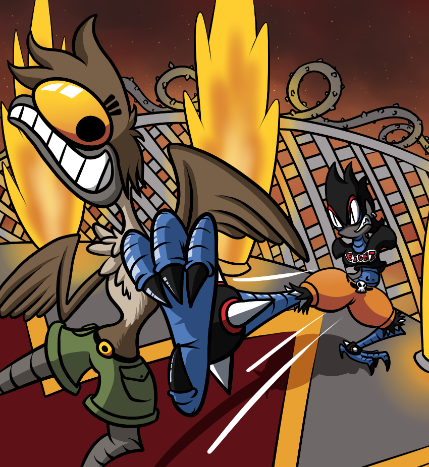 Monster Gurls- Harpy