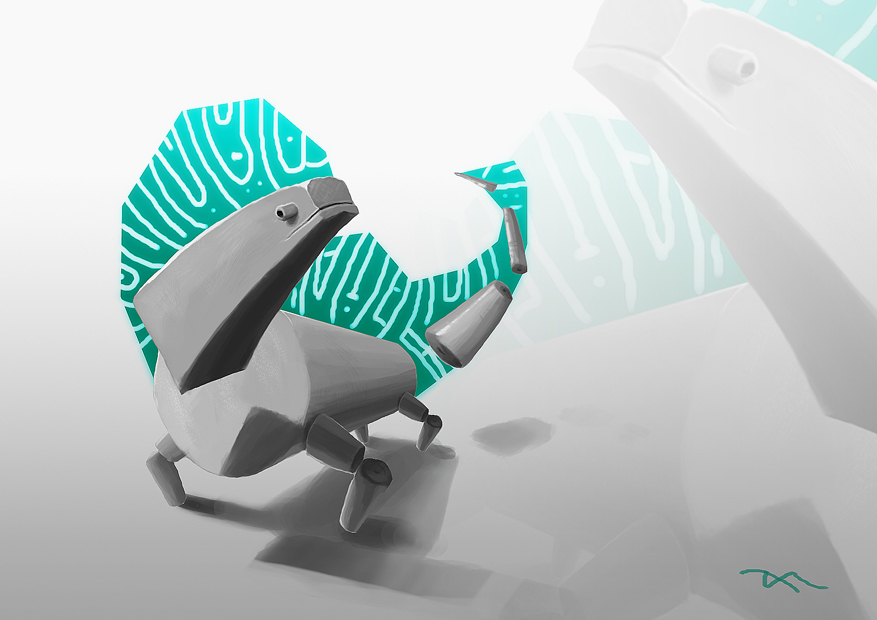 Cubed Iguana