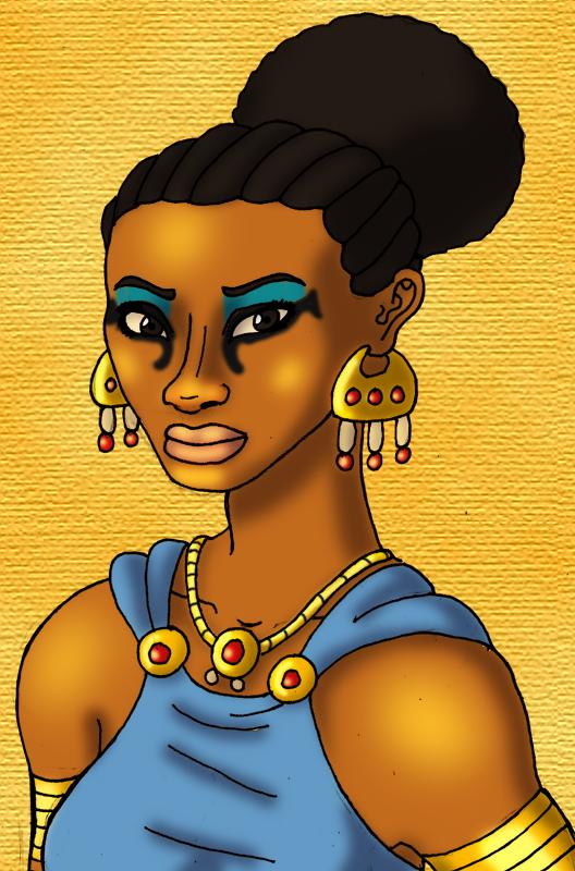Cleopatra VII Portrait
