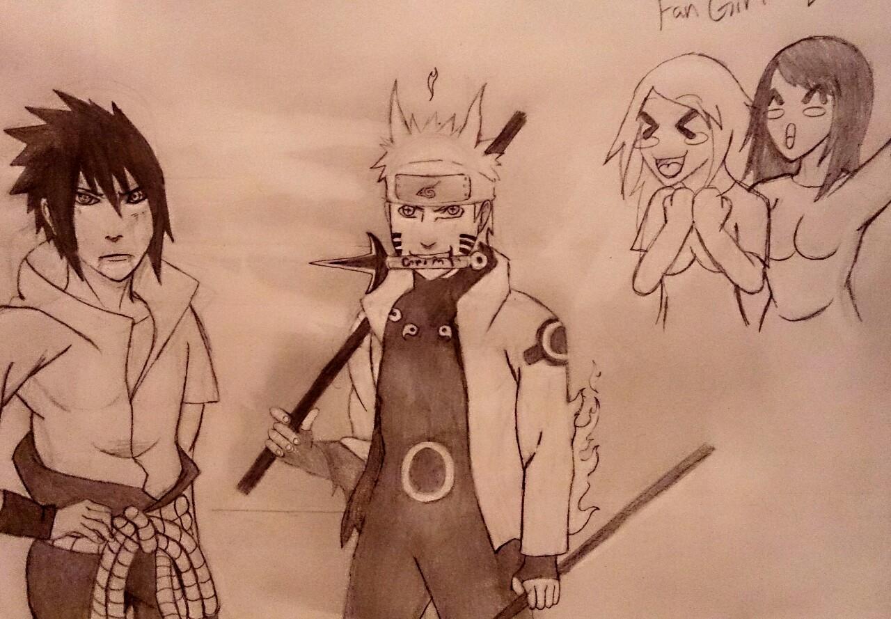 Naruto and Sasuke O.O