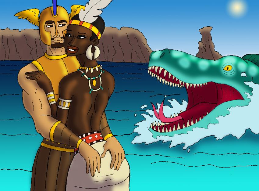 Perseus and Andromeda's Embrac