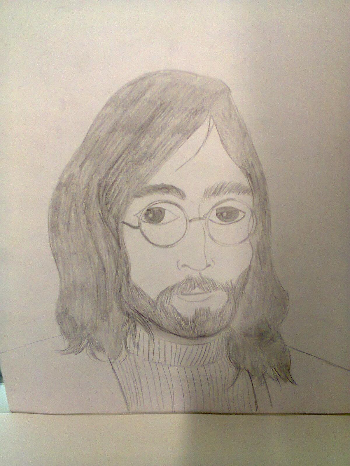John Lennon drawing